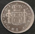 monedas de America - Perú -  1774 - 0.50 REAL (A)