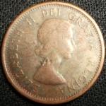 monedas de America - Canadá -  1962 (Anverso)