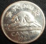 monedas de America - Canadá -  1964 (Reverso)