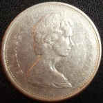 monedas de America - Canadá -  1970 (Anverso)