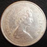 monedas de America - Canadá -  1973 (Anverso)