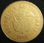 monedas de America - Colombia -  1992 (Anverso)