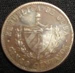 monedas de America - Cuba -  1961 (Anverso)