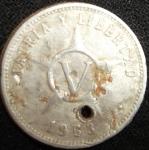 monedas de America - Cuba -  1963 (Reverso)