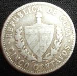 monedas de America - Cuba -  1968 (Anverso)