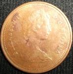 monedas de America - Canadá -  1980 (Anverso)