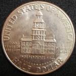 monedas de America - Estados Unidos -  1976 (Reverso)