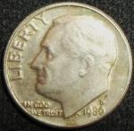 monedas de America - Estados Unidos -  1980 (Anverso)