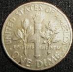 monedas de America - Estados Unidos -  1980 (Reverso)