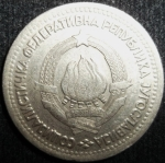 monedas de Europa - Yugoslavia -  1965 (Anverso)