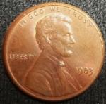 monedas de America - Estados Unidos -  1983 (Anverso)