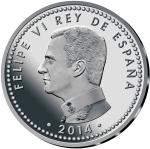 monedas de Europa - España -  REY FELIPE VI