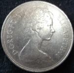 monedas de Europa - Reino Unido -  1970 (Anverso)