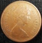monedas de Europa - Reino Unido -  1971 (Anverso)