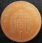 monedas de Europa - Reino Unido -  1971 (Reverso)