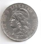 monedas de America - Argentina -  moneda anverso