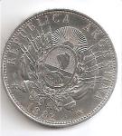 monedas de America - Argentina -  moneda reverso