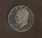 monedas de America - Estados Unidos -  Eissenhower  (anverso) / VENDIDO