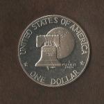 monedas de America - Estados Unidos -  Eissenhower  (reverso) / VENDIDA