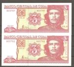 monedas de America - Cuba -  Billete de Che Guevara