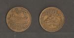 monedas de Asia - Líbano -  Simbolo del Libano / Cedro.