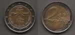 monedas de Europa - Bélgica -  60 aniv. Declaración Derechos Humanos