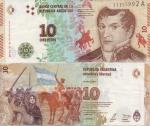 monedas de : America : Argentina : Juana Azurduy