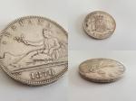 monedas de : Europa : Espa�a : PLATA DE LEY 5 PESETAS - 1870 ORIGINAL Espa�a