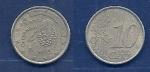 monedas de : Europa : España :      10 Ctms