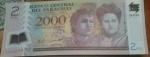 monedas de America - Paraguay -  2000 guaranies