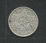 monedas de Africa - Marruecos -  Emperio Cherifiano Maroc Estrella de David Estrella Jalifiana