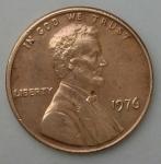 monedas de America - Estados Unidos -  1976 one cent
