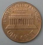 monedas de America - Estados Unidos -  1966 one cent