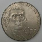 monedas de America - Estados Unidos -  2014 P dice cents