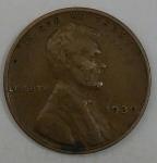 monedas de America - Estados Unidos -  1939 one cent