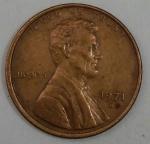 monedas de America - Estados Unidos -  1971 D one cent