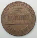 monedas de America - Estados Unidos -  1962 one cent