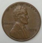 monedas de America - Estados Unidos -  1959 one cent