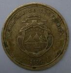 monedas de America - Costa Rica -  Luis Alberto