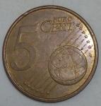 monedas de Europa - España -  2010 - 5 centavos euro