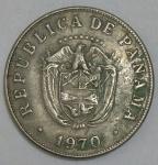 monedas de America - Panamá -  Luis Alberto