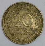 monedas de Europa - Francia -  Luis Alberto