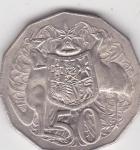 monedas de Oceania - Australia -  Reina Elizabeth II