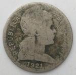 monedas de America - Colombia -  1921- 2 centavos