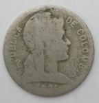 monedas de America - Colombia -  1921 - 1 centavo