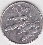 monedas de Europa - Islandia -  f reverso