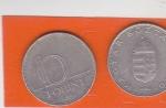 monedas de Oceania - Hungría -  escudo y cifra
