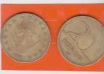 monedas de Asia - Hungría -  flores y CIFRA