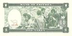 monedas de Africa - Eritrea -  P-1