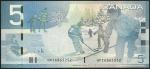 monedas de America - Canadá -  P-101Aa (reverso)